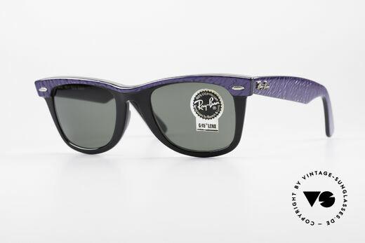 af2aff2628 Ray Ban Wayfarer I Old 80 s B L USA Sunglasses Details