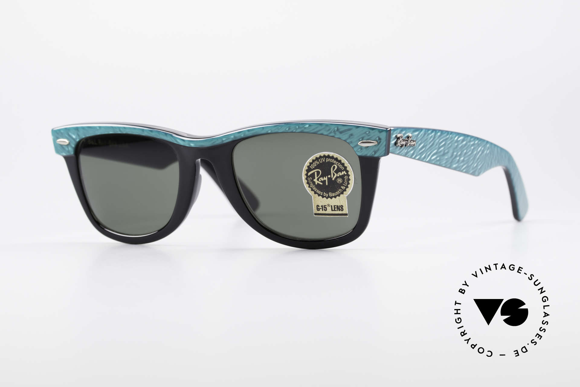 Ray Ban Wayfarer I Old 80's USA Sunglasses B&L, one of the downright classics of sunglass fashion, Made for Men and Women
