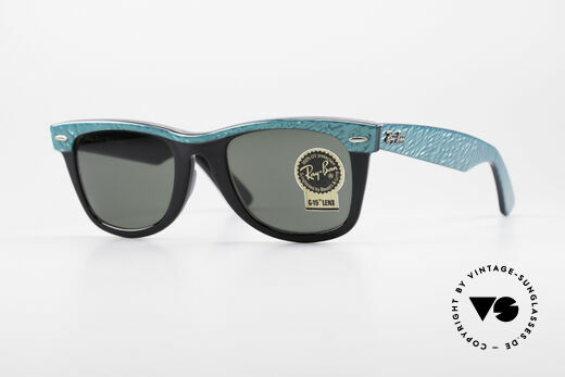 Ray Ban Wayfarer I Old 80's USA Sunglasses B&L Details