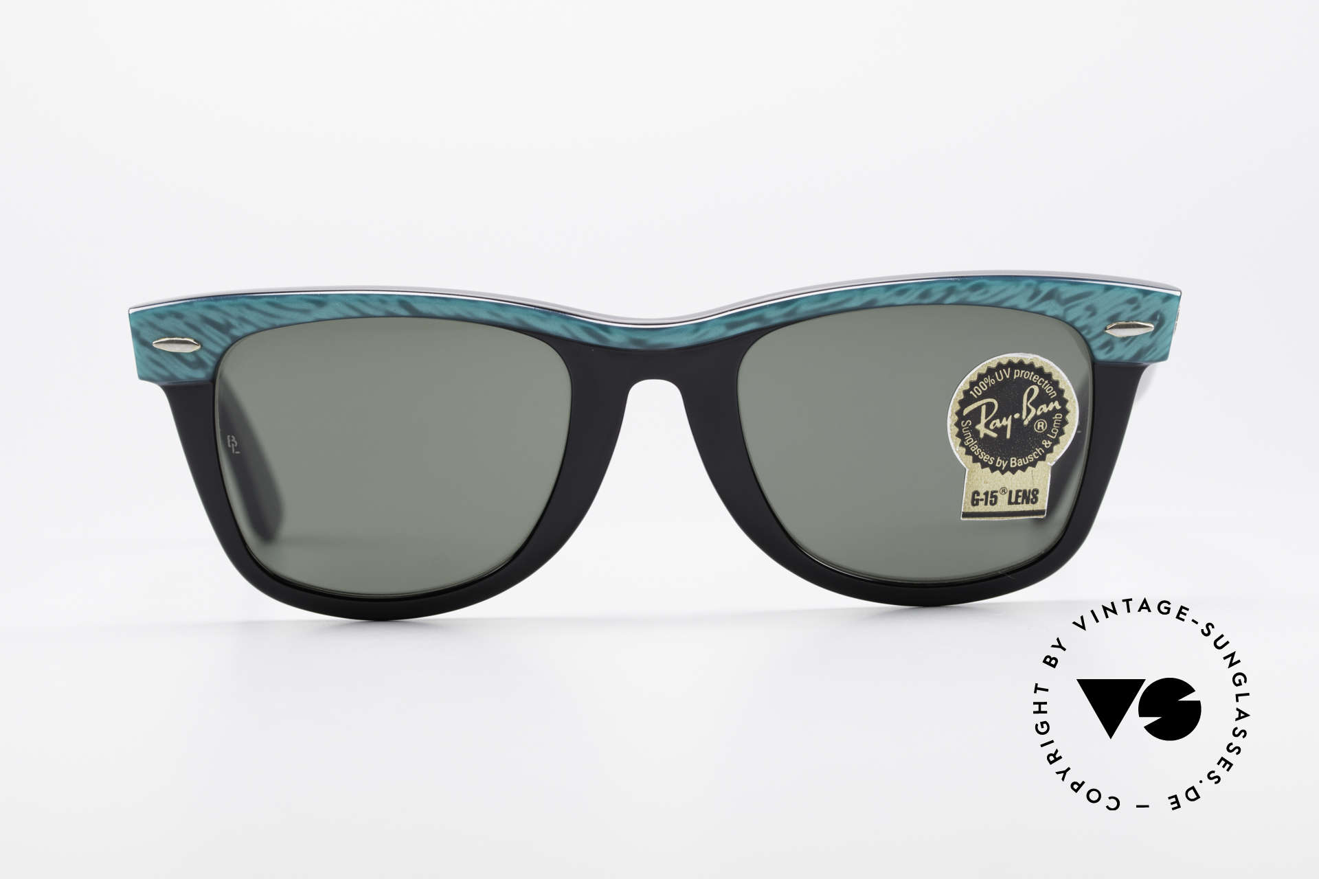 Ray Ban Wayfarer I Old 80's USA Sunglasses B&L, worn by many celebrities (e.g. Don Johnson, etc..), Made for Men and Women
