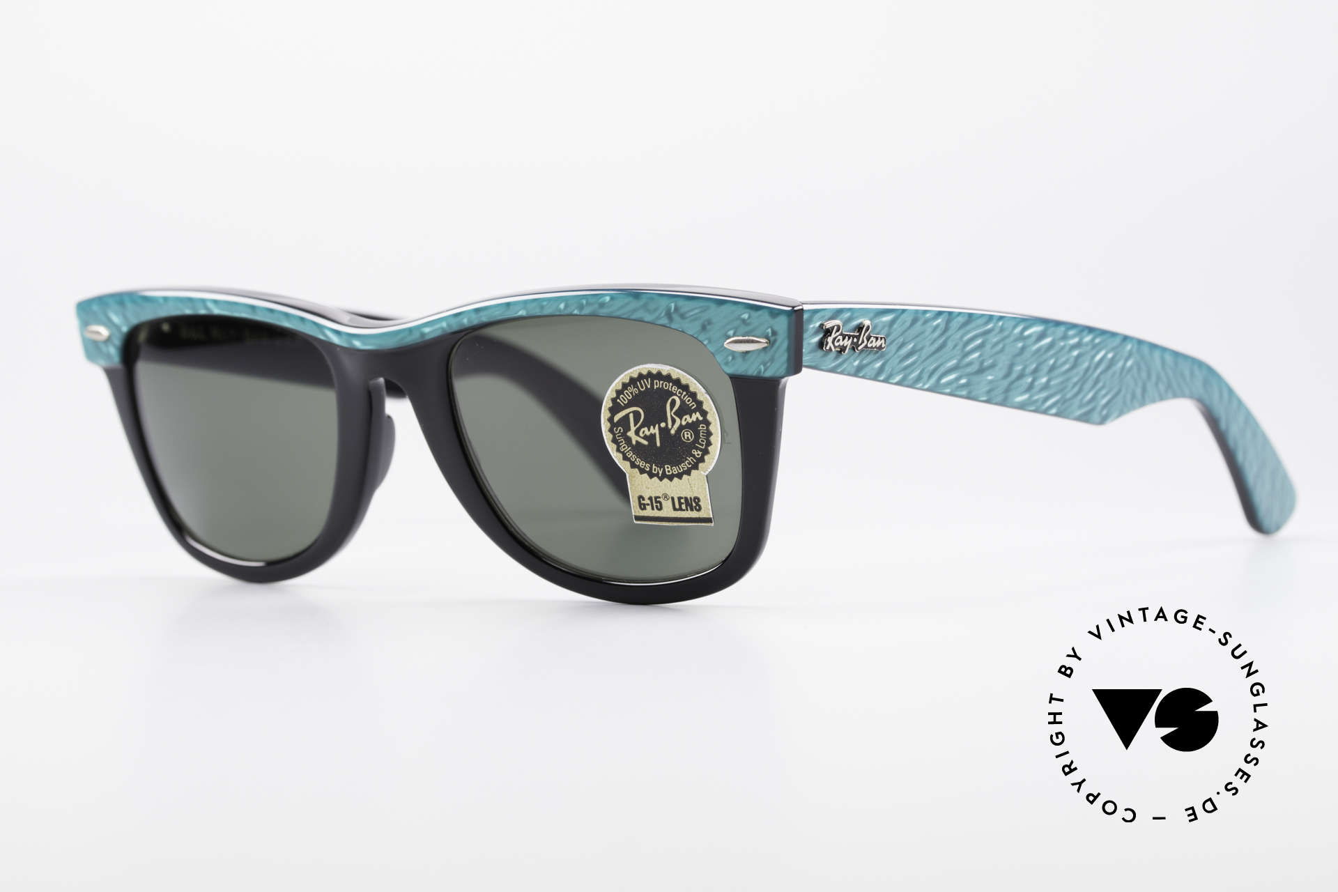 Ray Ban Wayfarer I Old 80's USA Sunglasses B&L, often copied, but never matched (simply a legend), Made for Men and Women