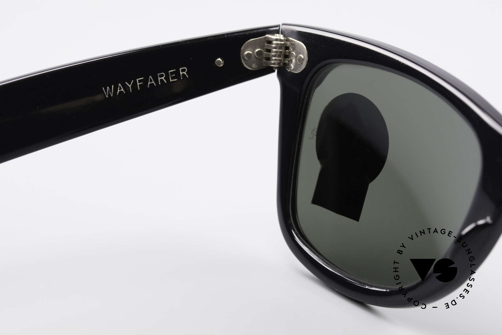 Ray Ban Wayfarer I Old 80's USA Sunglasses B&L, NO retro Italy-Wayfarer; an old 80's USA ORIGINAL, Made for Men and Women
