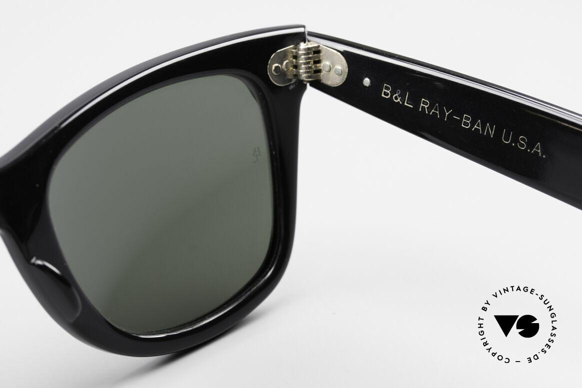 Ray Ban Wayfarer I Old 80's USA Sunglasses B&L, orig. name: W0522 Wayfarer Street Neat Jadestone, Made for Men and Women
