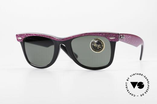 Ray Ban Wayfarer I Old 80's Sunglasses B&L USA Details