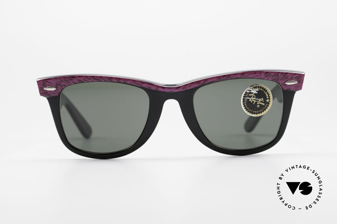 Ray Ban Wayfarer I Old 80's Sunglasses B&L USA, worn by many celebrities (e.g. Don Johnson, etc..), Made for Women