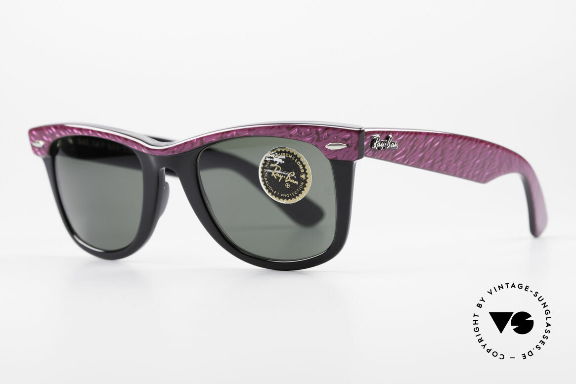 Ray Ban Wayfarer I Old 80's Sunglasses B&L USA, often copied, but never matched (simply a legend), Made for Women