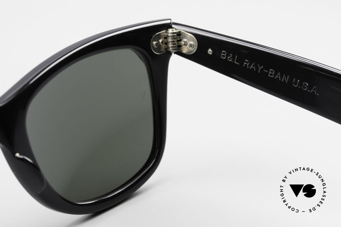 Ray Ban Wayfarer I Old 80's Sunglasses B&L USA, name: W0523 Wayfarer Street Neat amethyst/ebony, Made for Women