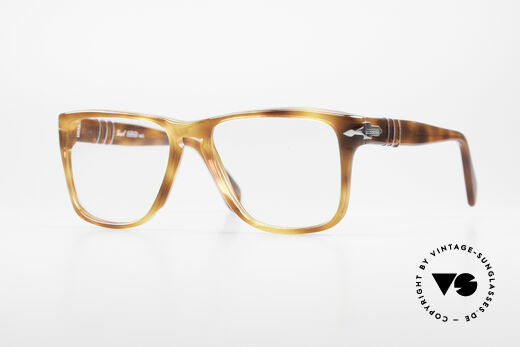 Persol 58172 No Retro 80's Eyeglasses Details