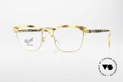 Persol Inge Ratti Gold Plated Vintage Glasses Details