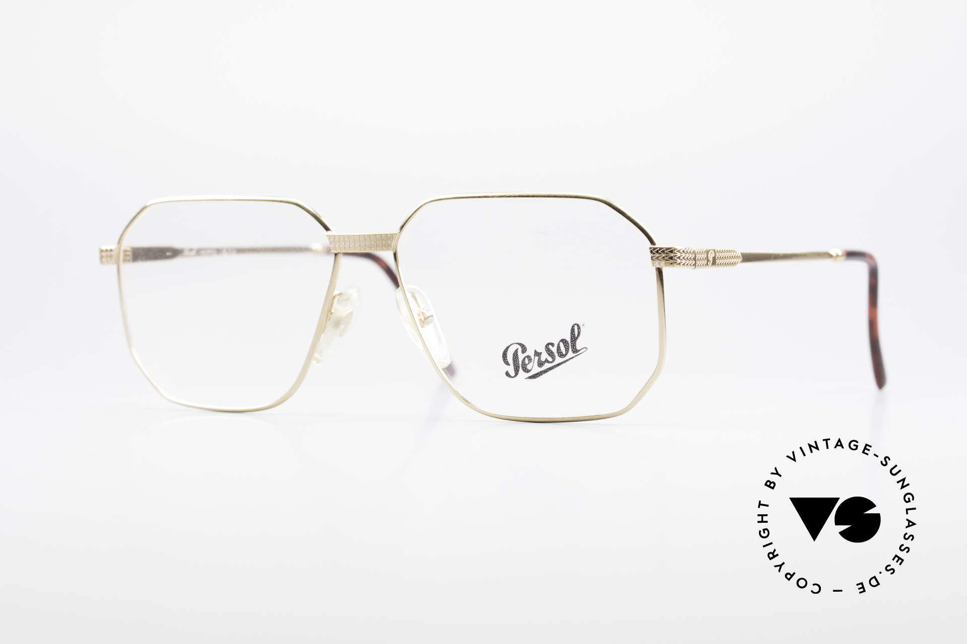 Persol Morris 90's Vintage Eyeglass Frame, vintage Persol men's glasses from the 90'S, Made for Men