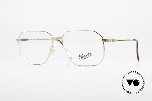 Persol Morris 90's Vintage Eyeglass Frame Details