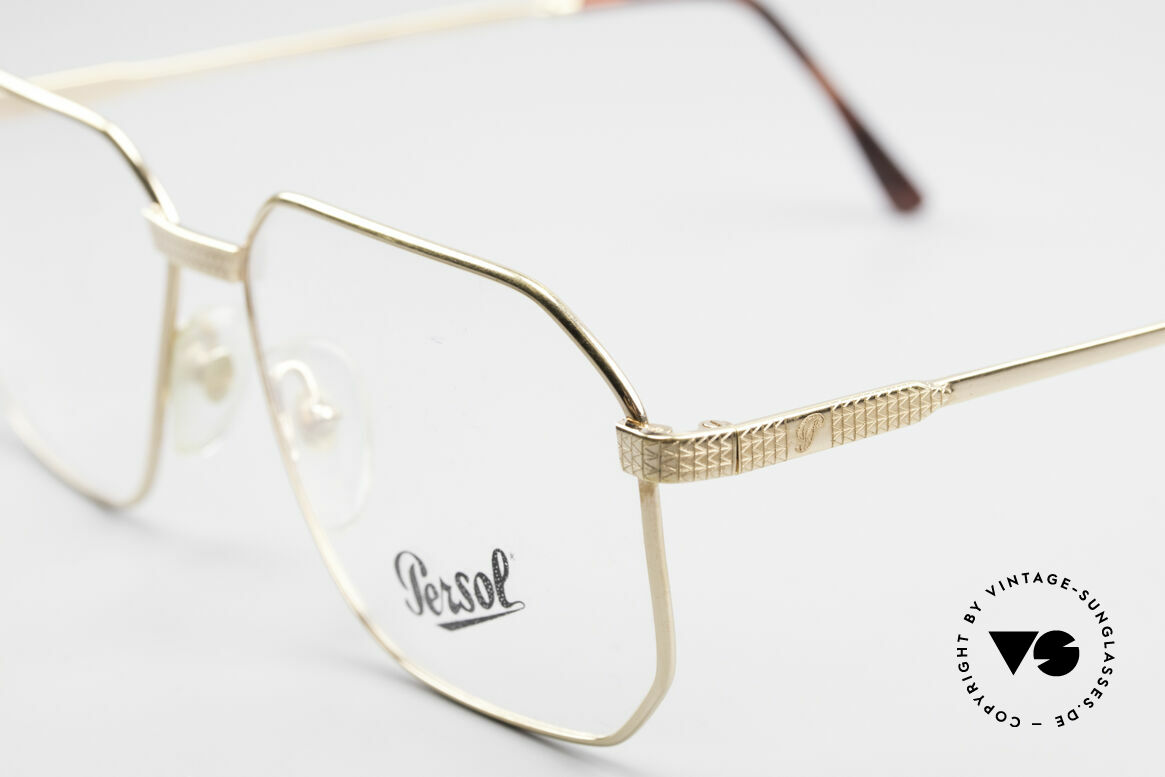 Persol Morris 90's Vintage Eyeglass Frame, unworn (like all our vintage Persol eyewear), Made for Men