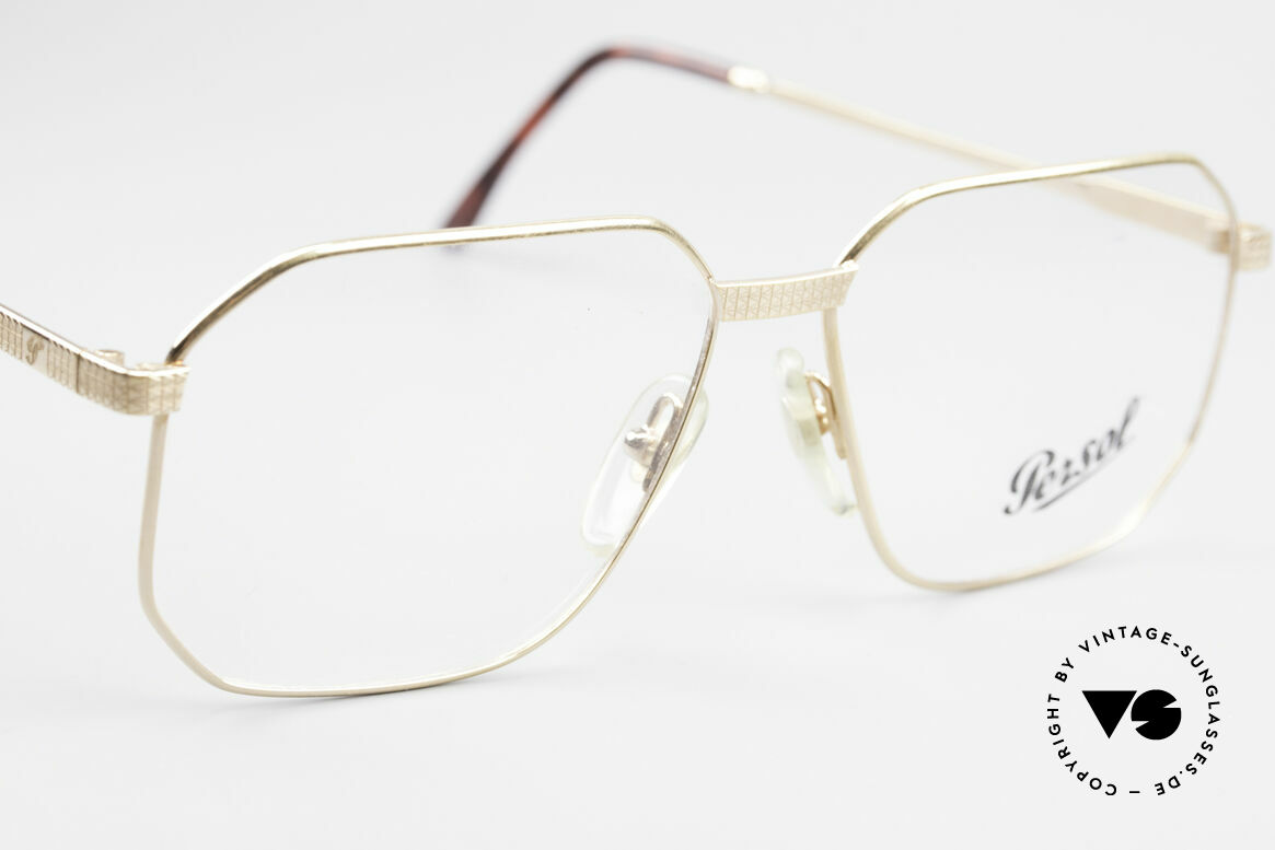 Persol Morris 90's Vintage Eyeglass Frame, NO retro glasses, but a 25 years old original, Made for Men