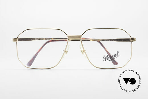 Persol Morris 90's Vintage Eyeglass Frame, orig. demo lenses can be replaced optionally, Made for Men
