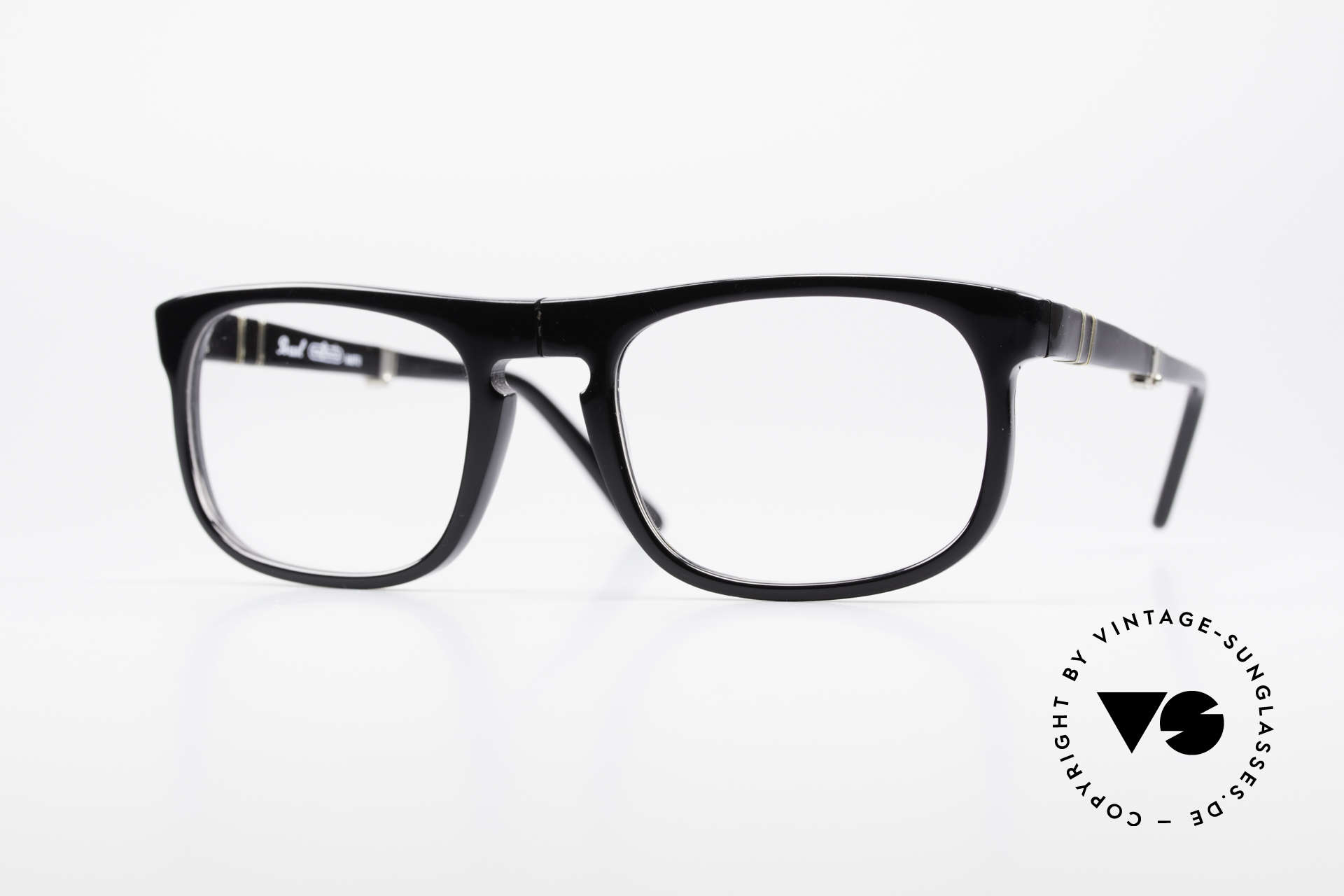Persol Ratti 807 Folding Vintage Folding Eyeglasses, Persol 806 RATTI = legendary 70's folding eyeglasses, Made for Men