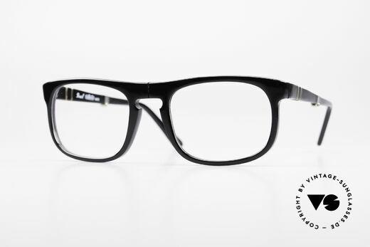 Persol Ratti 807 Folding Vintage Folding Eyeglasses Details