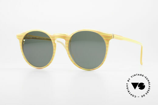 Alain Mikli 034 / 210 Designer Panto Sunglasses Details
