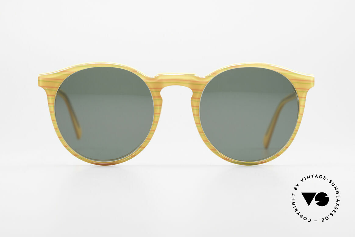 Alain Mikli 034 / 210 Designer Panto Sunglasses, classic 'panto'-design with an interesting pattern, Made for Men and Women