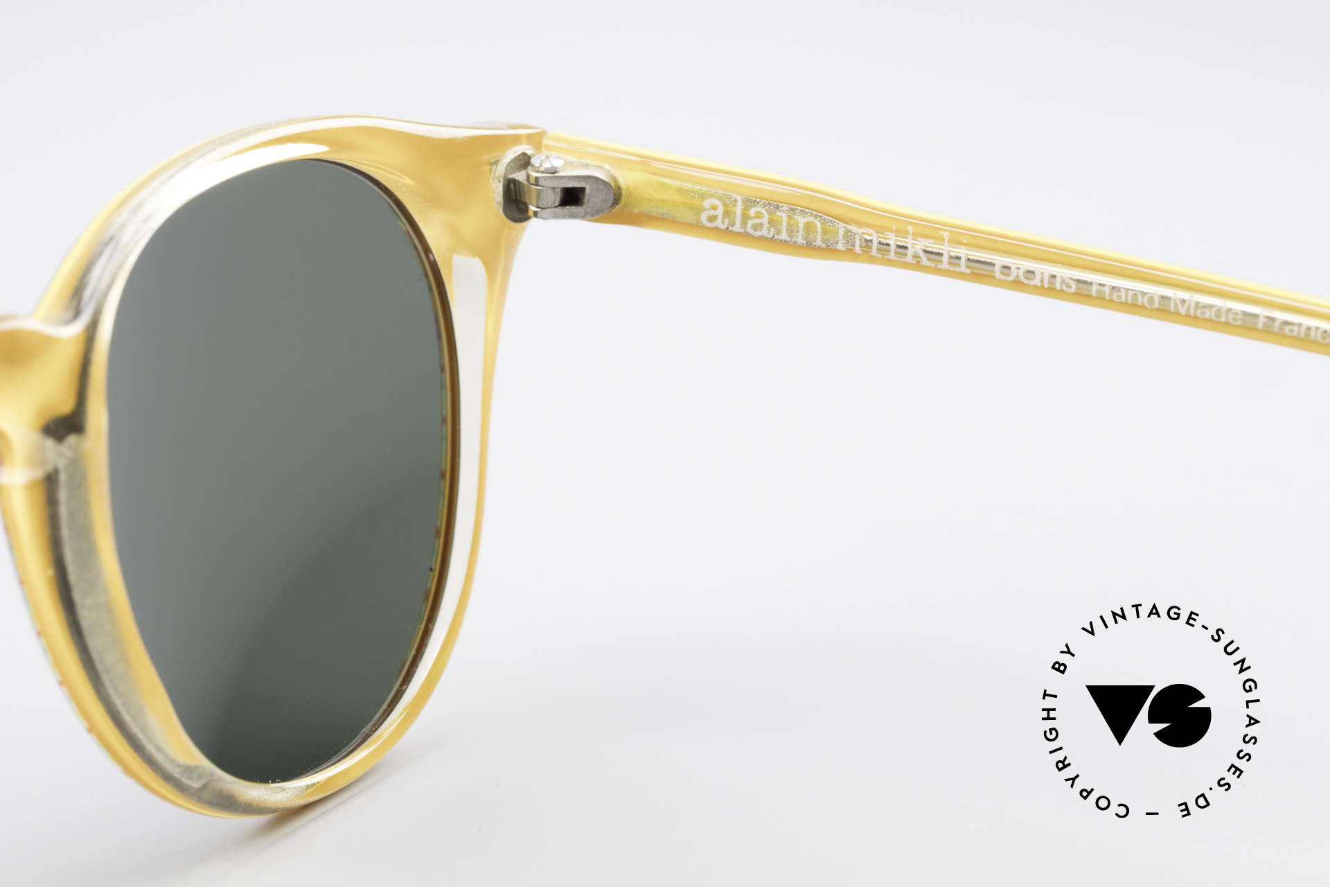 Alain Mikli 034 / 210 Designer Panto Sunglasses, NO RETRO shades, but an old ORIGINAL from 1989, Made for Men and Women