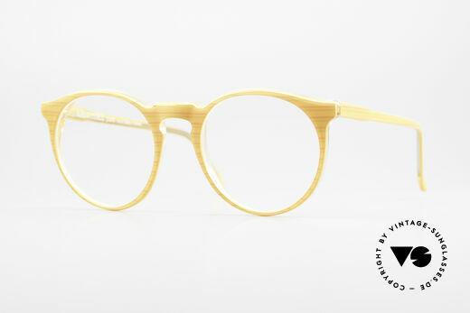 Alain Mikli 034 / 210 Designer Panto Eyeglasses Details
