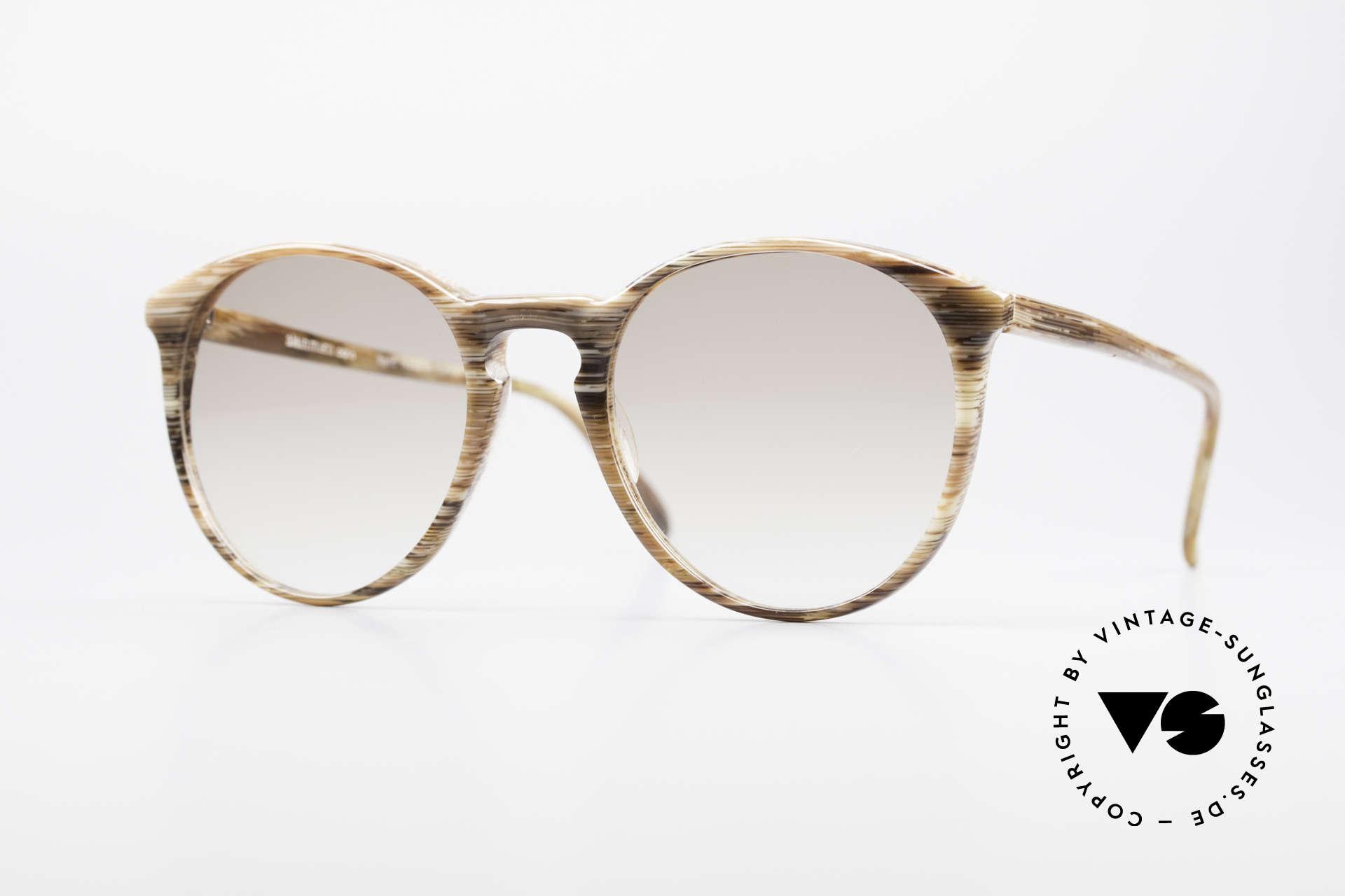 Alain Mikli 901 / 153 Horn Optic Panto Sunglasses, elegant VINTAGE Alain Mikli designer sunglasses, Made for Men and Women