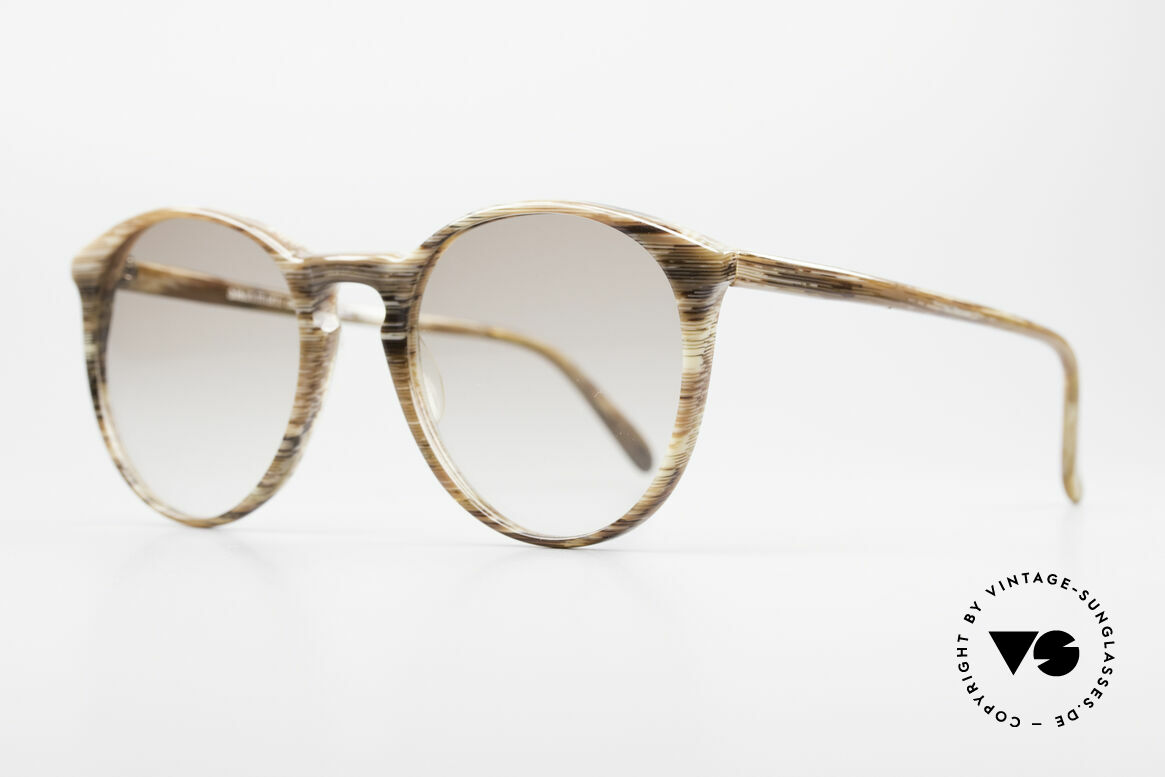 "Alain Mikli 901 / 153 Horn Optic Panto Sunglasses, terrific frame pattern (looks like a kind of ""horn""), Made for Men and Women"