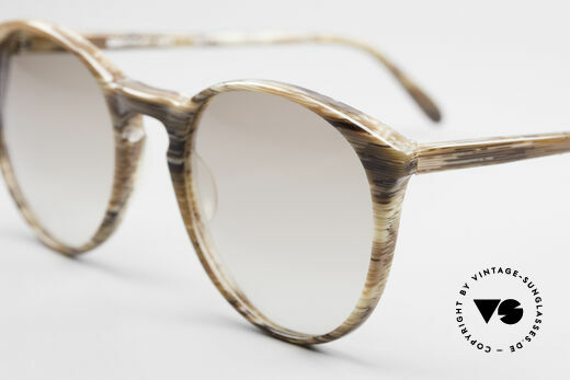 Alain Mikli 901 / 153 Horn Optic Panto Sunglasses