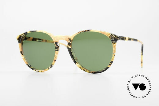 Alain Mikli 901 / 393 Amber Optic Panto Sunglasses Details