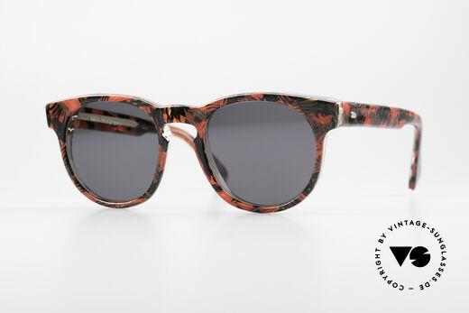 d25e51579d Alain Mikli 903   687 1980 s Panto Sunglasses Details