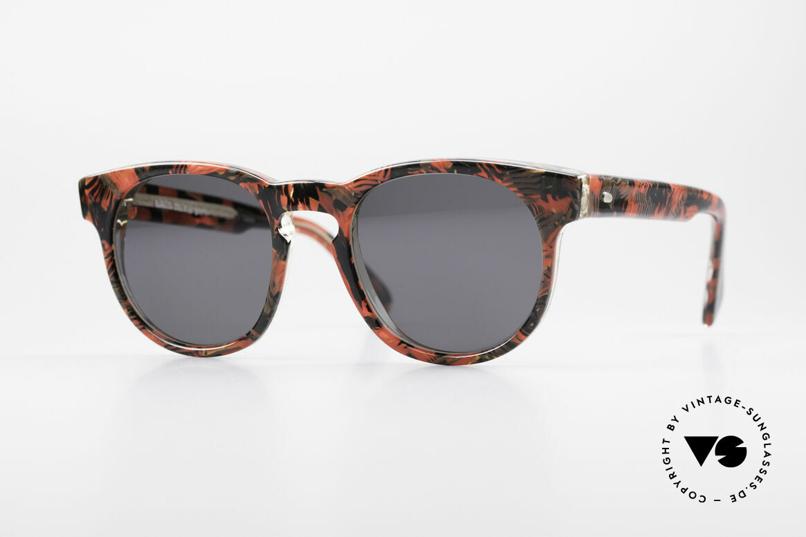 Alain Mikli 903 / 687 80's Panto Sunglasses Small, timeless vintage Alain Mikli designer sunglasses, Made for Men and Women