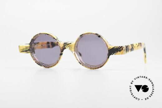 Alain Mikli 0150 / 393 Round Designer Sunglasses Details