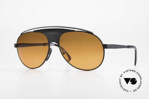 Alain Mikli 634 / 0023 Lenny Kravitz Sunglasses Details