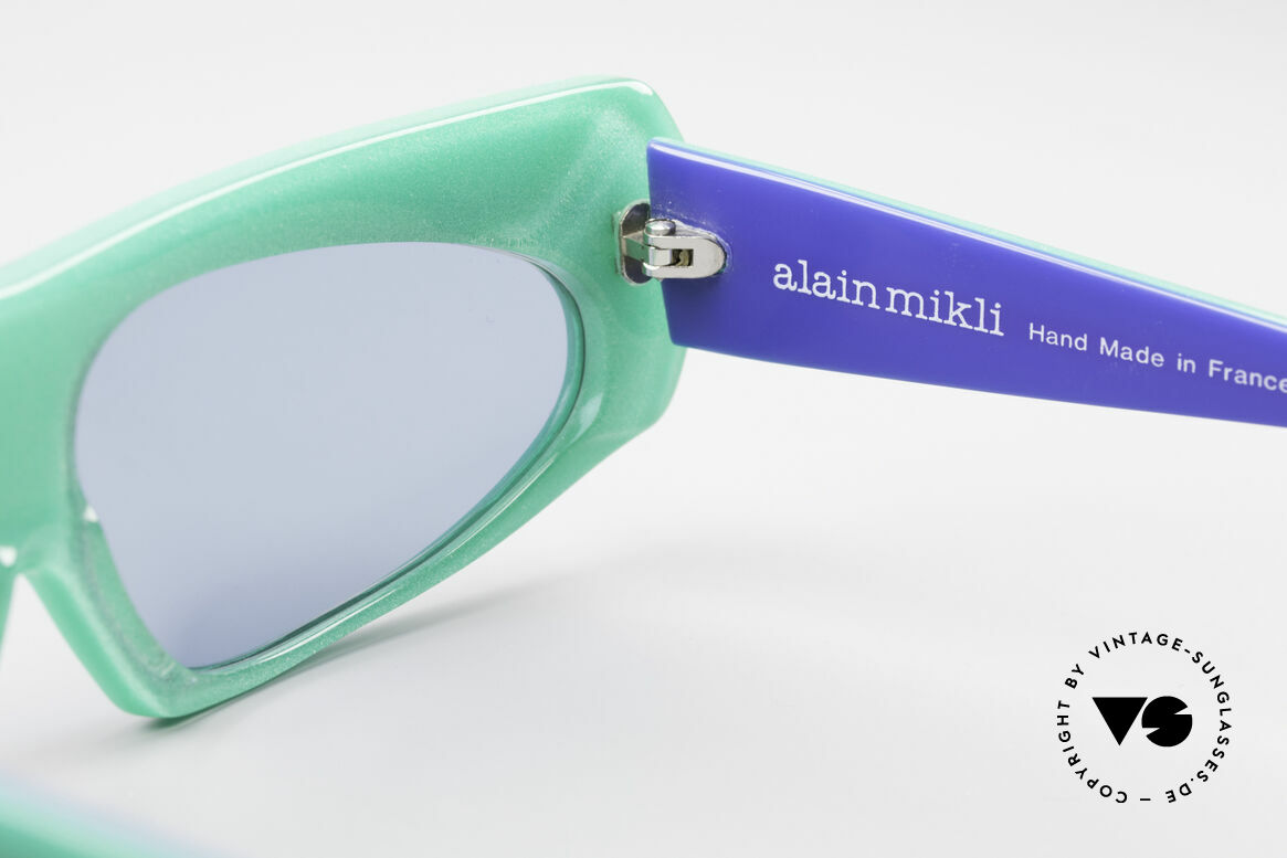 Alain Mikli 078 / 077 80's Eye-Catcher Sunglasses