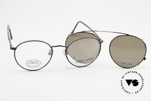 Giorgio Armani 138 Clip On Panto Vintage Frame