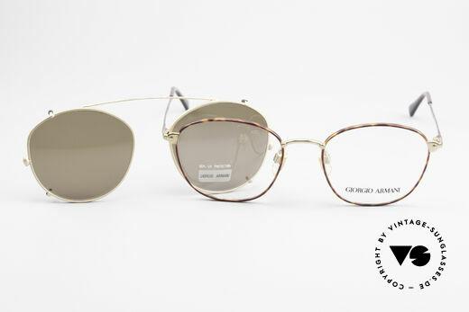Giorgio Armani 168 Clip On Vintage Eyeglasses