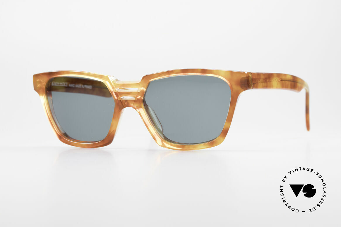 Alain Mikli 0145 / 033 Striking 1980's Sunglasses