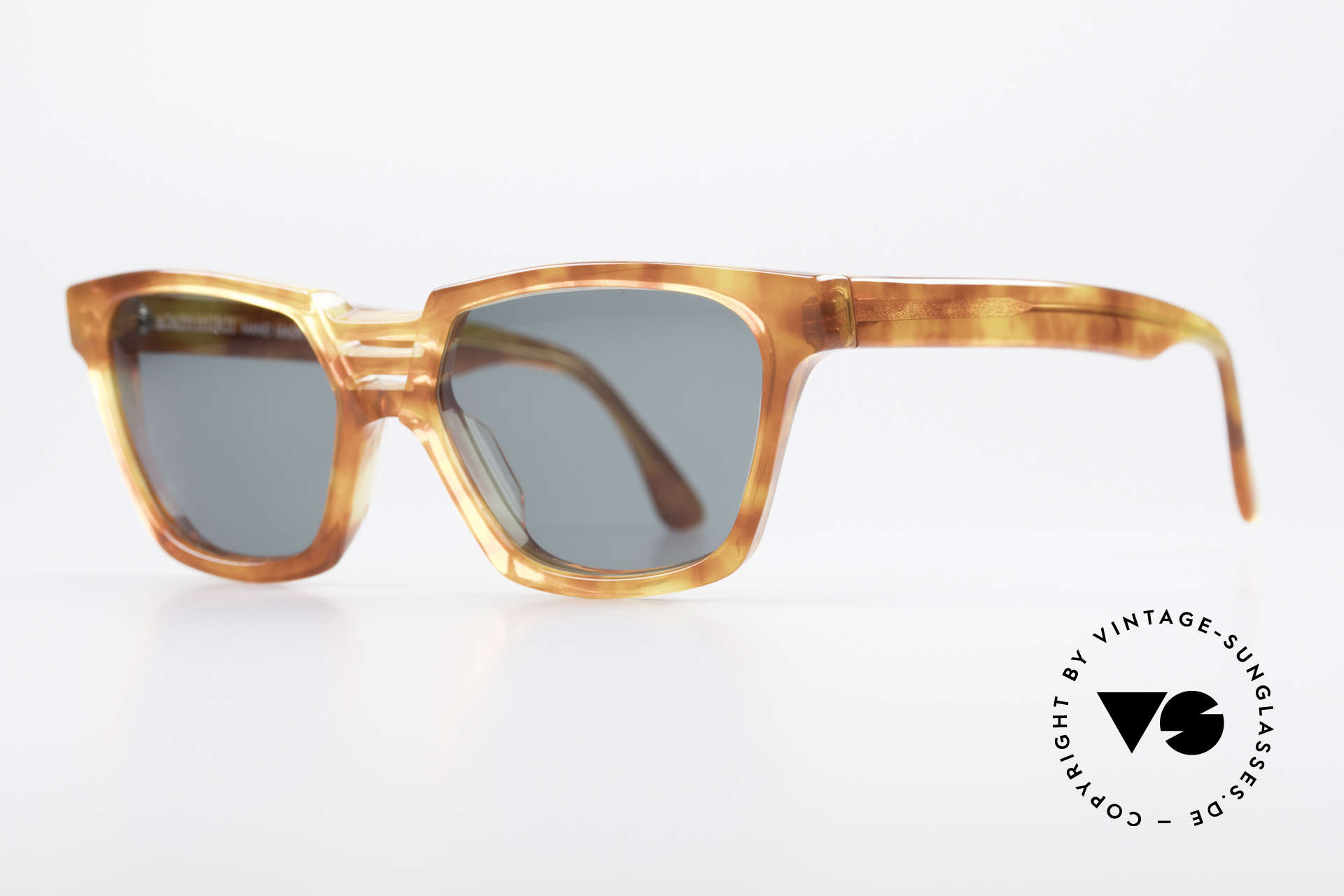 Alain Mikli 0145 / 033 Striking 1980's Sunglasses, top quality, handmade in France, 100% UV protection, Made for Men and Women