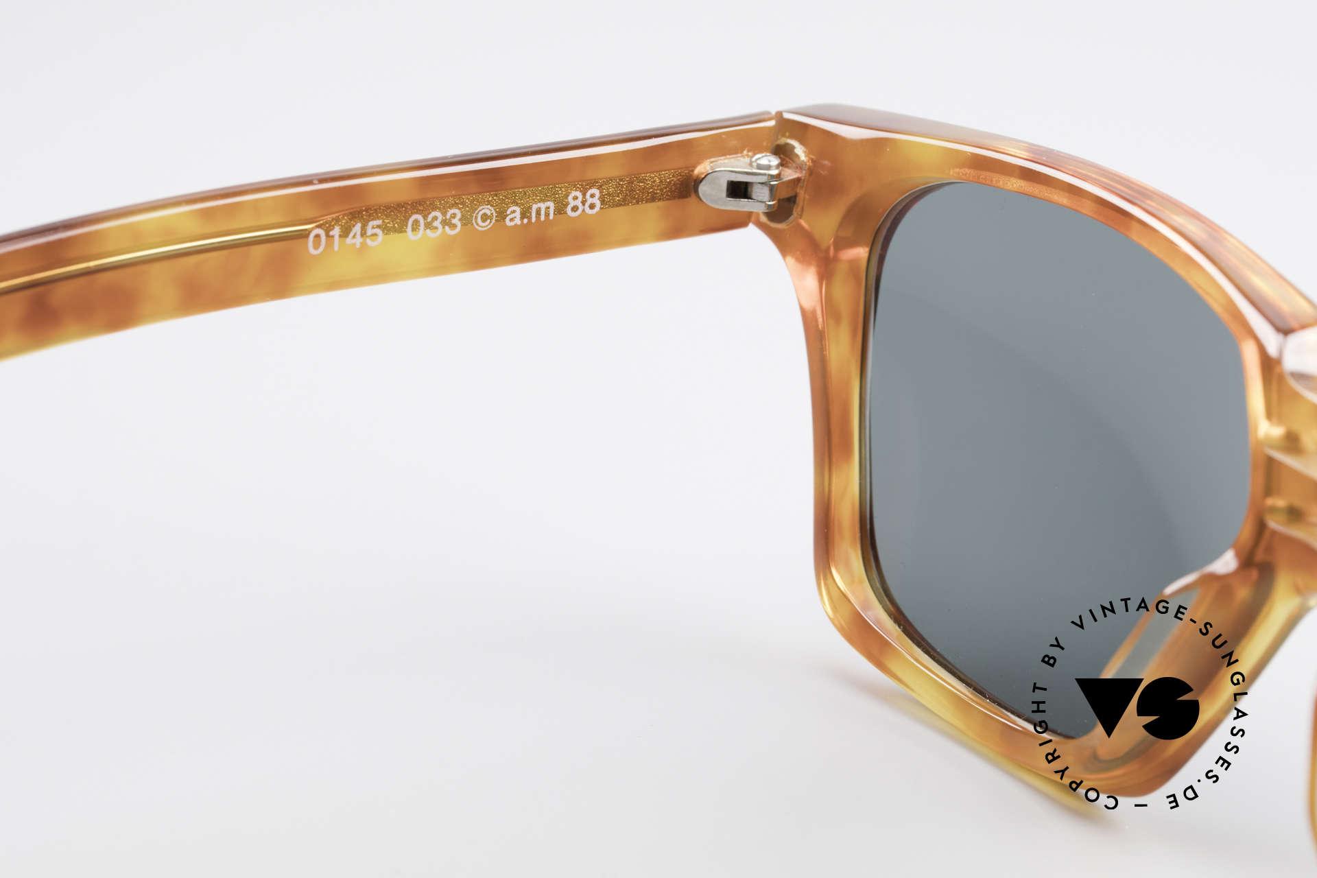 Alain Mikli 0145 / 033 Striking 1980's Sunglasses, the frame fits optical (sun) lenses / prescriptions, too, Made for Men and Women