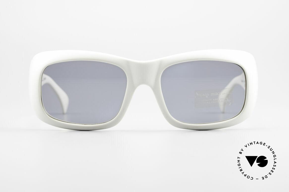 Alain Mikli 5105 / 102 Vintage 90's XL Sunglasses, XXL wrap around ALAIN MIKLI designer sunglasses, Made for Men and Women