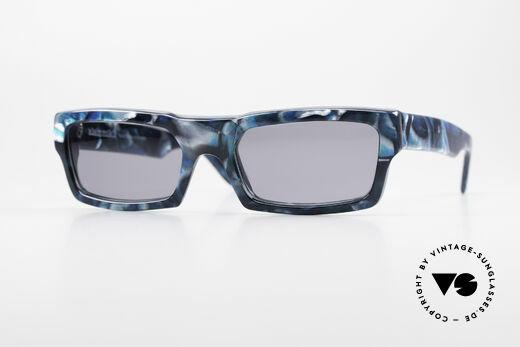 Alain Mikli 709 / 492 Extraordinary 80s Sunglasses Details