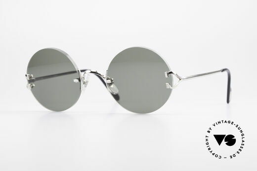 aa86b13e7f You may also like these glasses. Cartier Colisee Round Luxury Platinum  Frame Details. Cartier Colisee. 699.00 EUR · Cartier Madison Round Platinum  ...