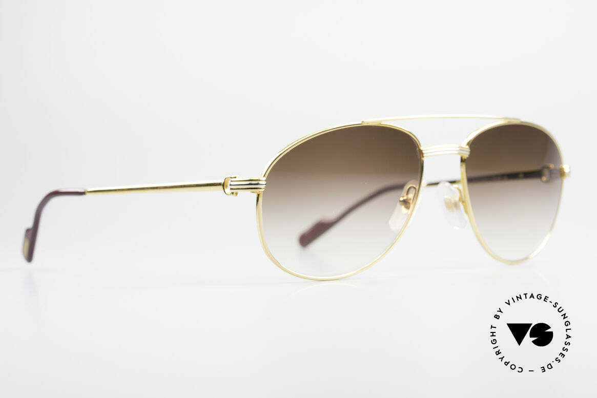 Cartier Driver 90's Luxury Aviator Shades