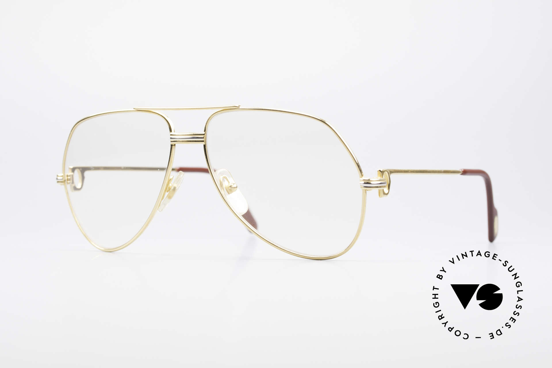 Cartier Vendome LC - M Changeable Cartier Lenses, Vendome = the most famous eyewear design by CARTIER, Made for Men and Women