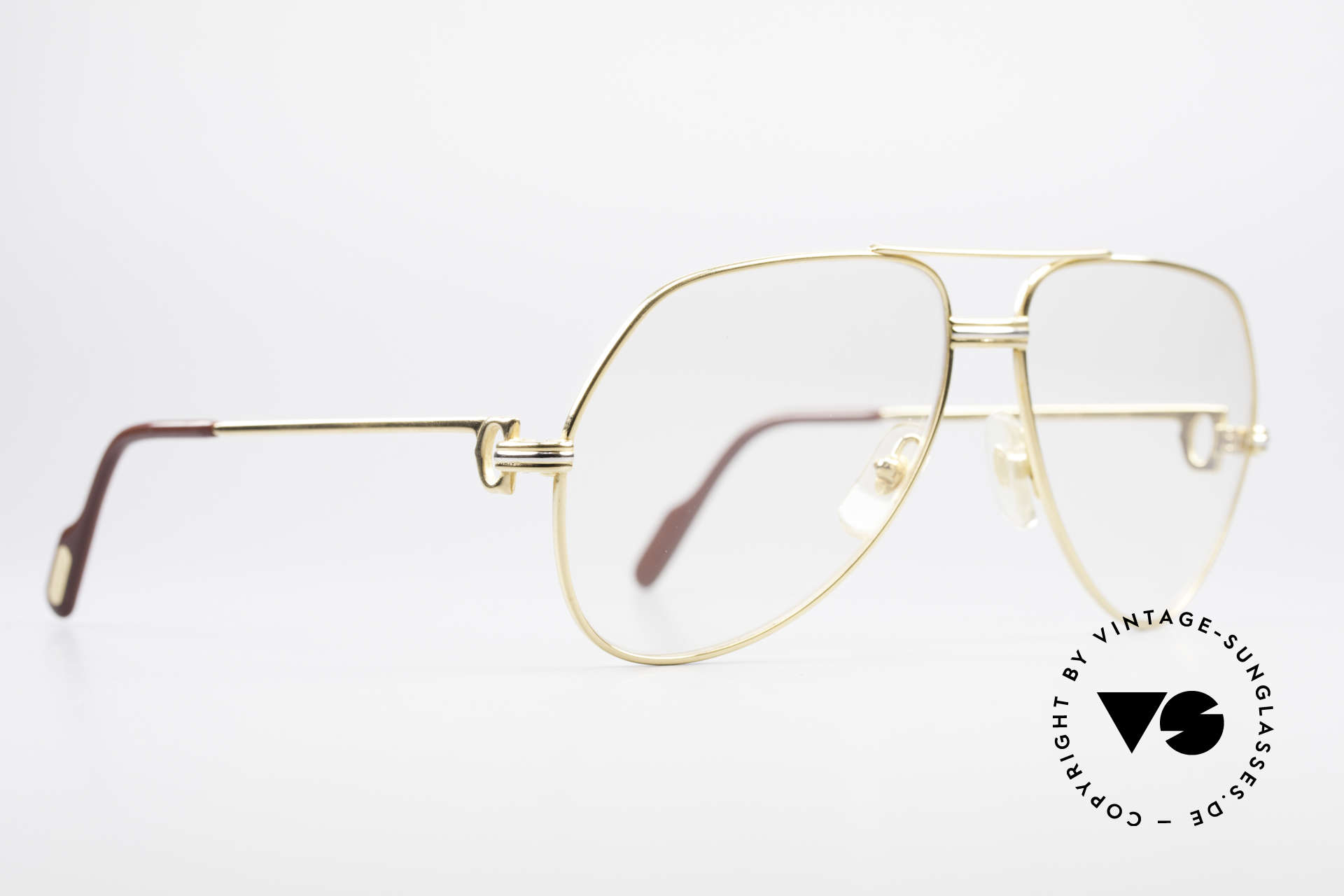 Cartier Vendome LC - M Changeable Cartier Lenses, this pair (with L.Cartier decor): Medium size 59-14, 130, Made for Men and Women