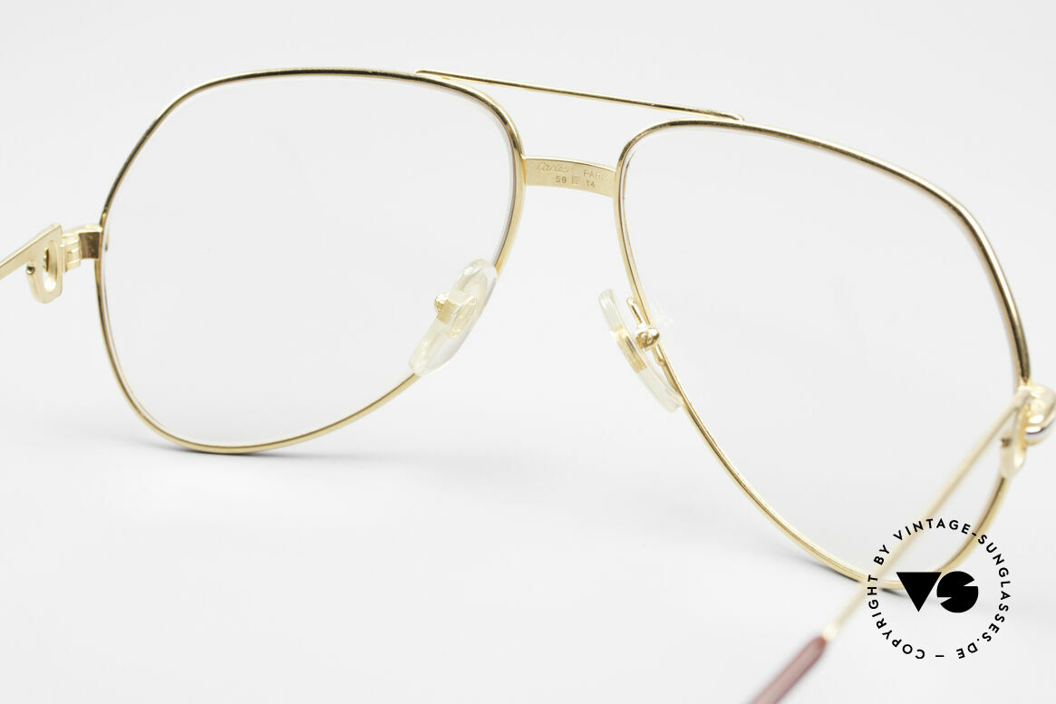 Cartier Vendome LC - M Changeable Cartier Lenses, the lenses are darker in the sun and lighter in the shade, Made for Men and Women
