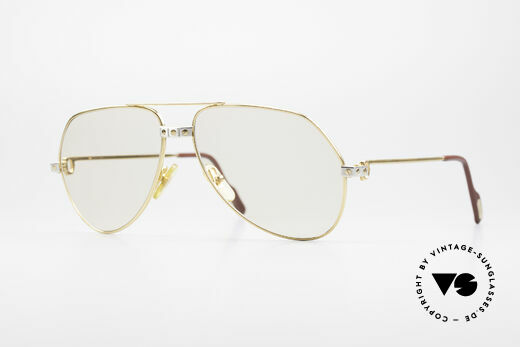 Cartier Vendome Santos - M Changeable Photochromic Lens Details