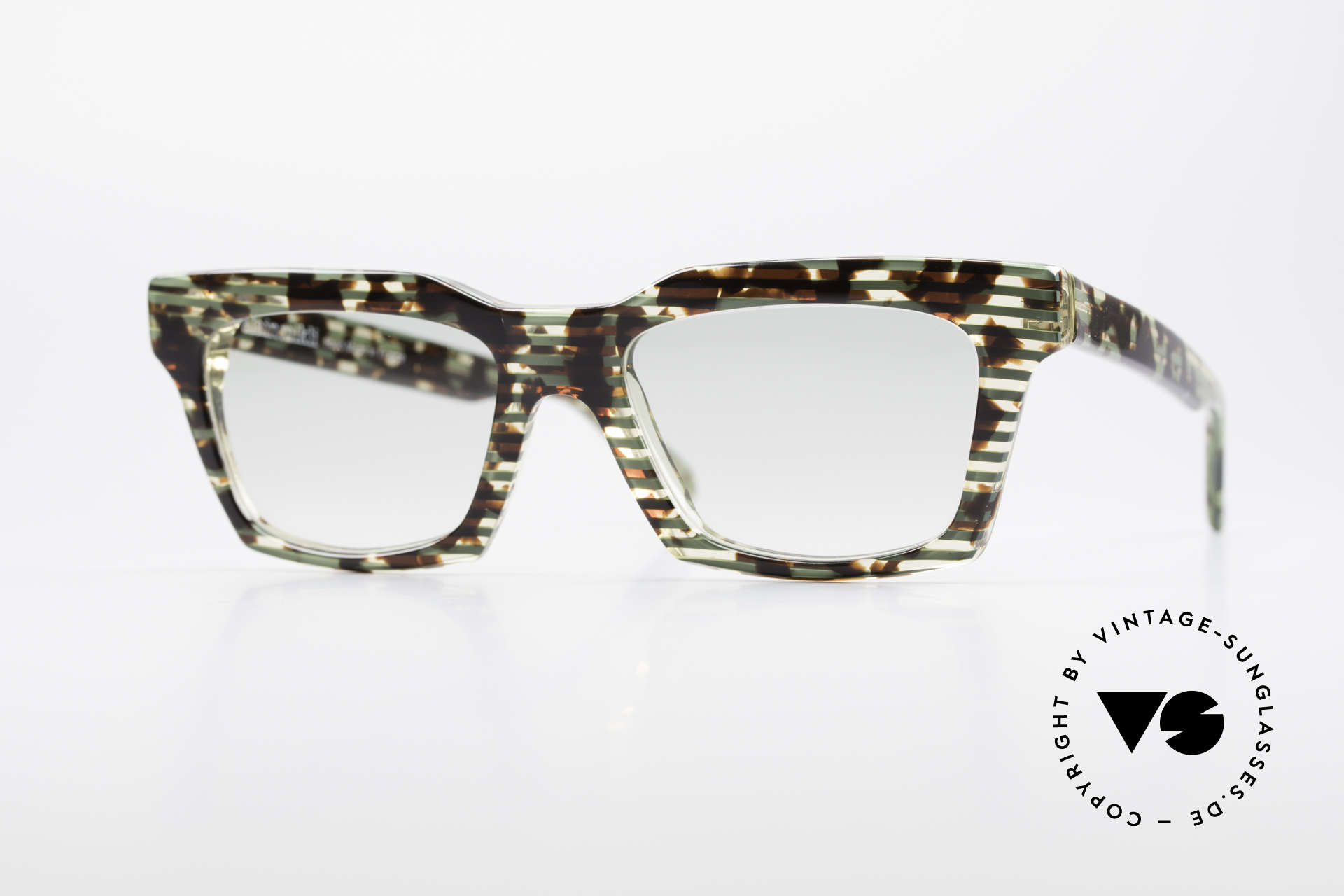 Alain Mikli 710 / 825 Extraordinary 80's Frame, vintage ALAIN MIKLI designer sunglasses from 1986, Made for Men and Women