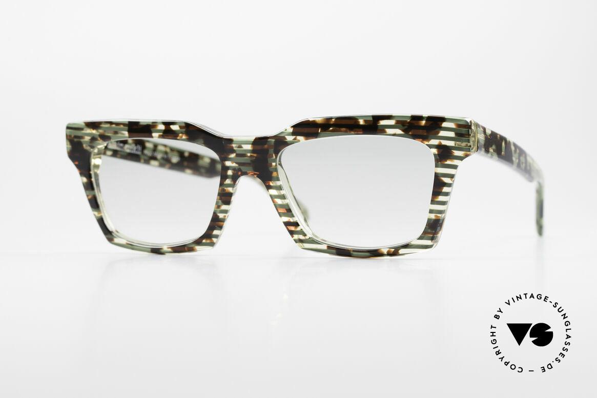Alain Mikli 710 / 825 Extraordinary 80's Frame, vintage ALAIN MIKLI designer sunglasses from 1986, Made for Men and Women