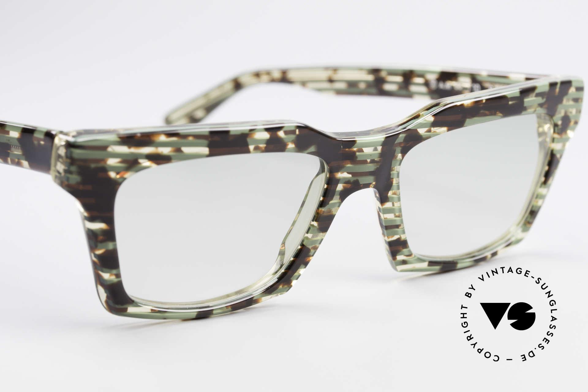 Alain Mikli 710 / 825 Extraordinary 80's Frame, NO retro specs, but a precious 30 years old ORIGINAL, Made for Men and Women