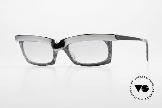Alain Mikli 611 / 021 Spectacular 80's Sunglasses Details